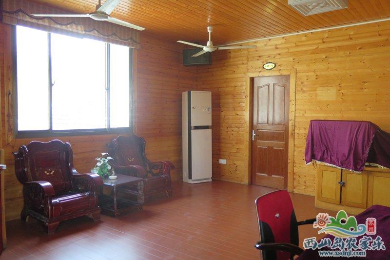 农家乐小木屋客厅